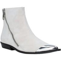kengät Naiset Nilkkurit Calvin Klein Jeans B4R0450 Valkoinen