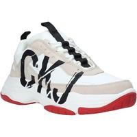 kengät Naiset Matalavartiset tennarit Calvin Klein Jeans B4R0869 Valkoinen