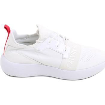 kengät Naiset Matalavartiset tennarit Calvin Klein Jeans RE9809 Valkoinen