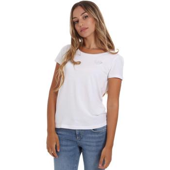 vaatteet Naiset Lyhythihainen t-paita Ea7 Emporio Armani 8NTT64 TJ28Z Valkoinen