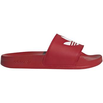 kengät Lapset Rantasandaalit adidas Originals FU9179 Punainen