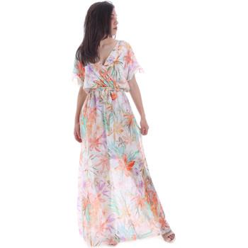 vaatteet Naiset Pitkä mekko Gaudi 011FD15038 Oranssi
