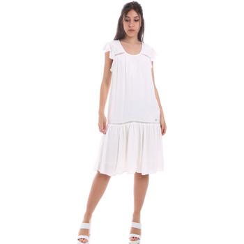 vaatteet Naiset Lyhyt mekko Gaudi 011BD15015 Valkoinen