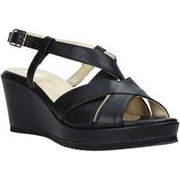kengät Naiset Sandaalit ja avokkaat Esther Collezioni ZB 018 Musta