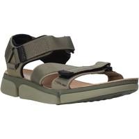 kengät Miehet Sandaalit ja avokkaat Clarks 26139564 Vihreä