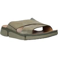 kengät Miehet Sandaalit Clarks 26139561 Vihreä