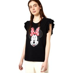 vaatteet Naiset Lyhythihainen t-paita Liu Jo FA0408 J5904 Musta