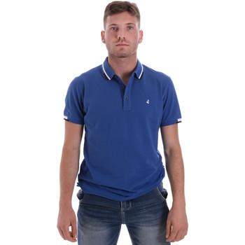 vaatteet Miehet Lyhythihainen poolopaita Navigare NV82113 Sininen