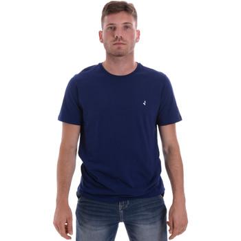 vaatteet Miehet Lyhythihainen t-paita Navigare NV31126 Sininen