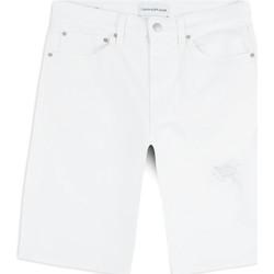 vaatteet Miehet Shortsit / Bermuda-shortsit Calvin Klein Jeans J30J314643 Valkoinen