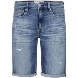 vaatteet Miehet Shortsit / Bermuda-shortsit Calvin Klein Jeans J30J315356 Sininen