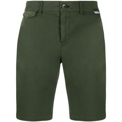 vaatteet Miehet Shortsit / Bermuda-shortsit Calvin Klein Jeans K10K105314 Vihreä