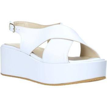 kengät Naiset Sandaalit ja avokkaat Esther Collezioni Z039 Valkoinen