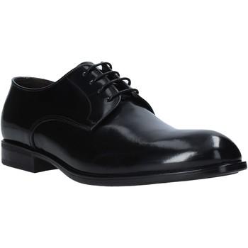 kengät Miehet Derby-kengät Exton 1394 Musta