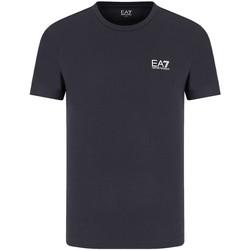 vaatteet Miehet Lyhythihainen t-paita Emporio Armani EA7 8NPT51 PJM9Z Sininen