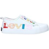 kengät Lapset Matalavartiset tennarit Levi's VBET0003T Valkoinen
