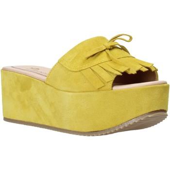 kengät Naiset Sandaalit Grace Shoes C3 Keltainen