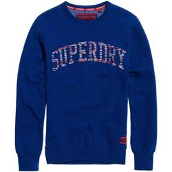vaatteet Miehet Svetari Superdry M20002YQ Sininen
