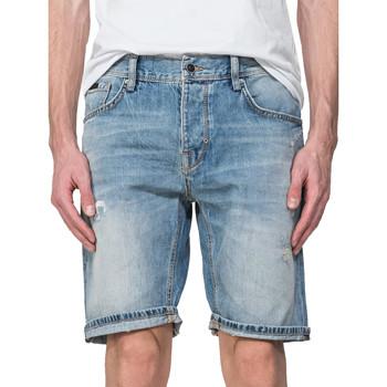 vaatteet Miehet Shortsit / Bermuda-shortsit Antony Morato MMDS00068 FA700115 Sininen