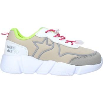 kengät Tytöt Matalavartiset tennarit Miss Sixty S20-SMS738 Harmaa