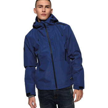 vaatteet Miehet Tuulitakit Superdry M50019SR Sininen