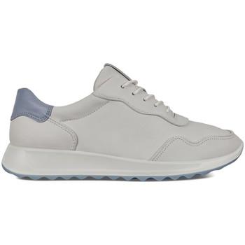 kengät Naiset Matalavartiset tennarit Ecco 29202351843 Valkoinen