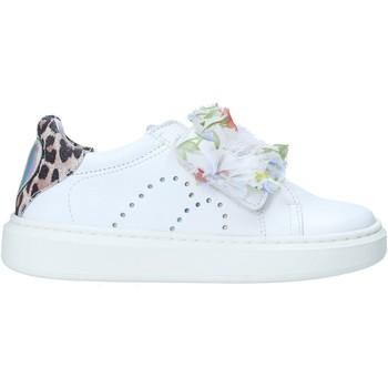 kengät Tytöt Matalavartiset tennarit Melania ME2274D0S.A Valkoinen