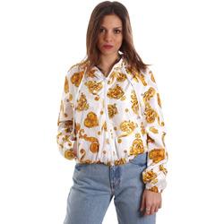 vaatteet Naiset Svetari Versace C9HVB92525115003 Valkoinen