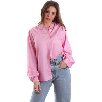 vaatteet Naiset Paitapusero / Kauluspaita Versace B0HVB62307619445 Vaaleanpunainen
