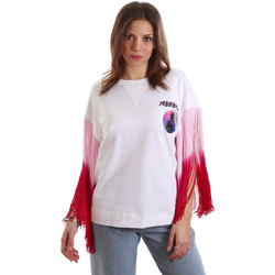vaatteet Naiset Lyhythihainen t-paita Versace B2HVB71511701003 Valkoinen