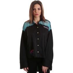 vaatteet Naiset Paitapusero / Kauluspaita Versace B0HVB60310623899 Musta