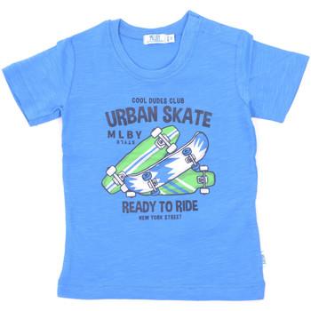 vaatteet Lapset Lyhythihainen t-paita Melby 20E7370 Sininen