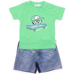 vaatteet Lapset Kokonaisuus Melby 20L7270 Vihreä
