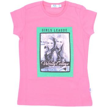 vaatteet Tytöt Lyhythihainen t-paita Melby 70E5645 Vaaleanpunainen