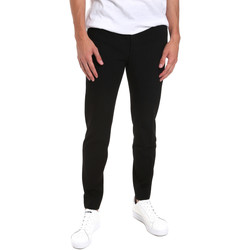 vaatteet Miehet Chino-housut / Porkkanahousut Calvin Klein Jeans K10K104807 Sininen