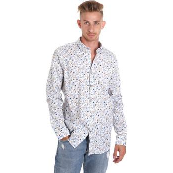 vaatteet Miehet Pitkähihainen paitapusero Sseinse CE491SS Valkoinen