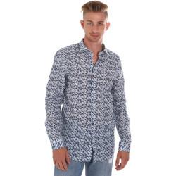vaatteet Miehet Pitkähihainen paitapusero Sseinse CE508SS Sininen