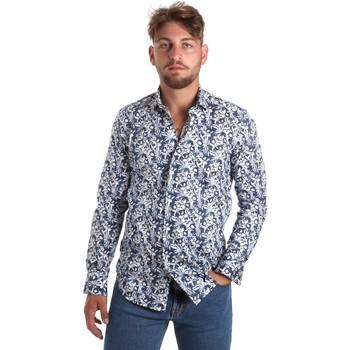 vaatteet Miehet Pitkähihainen paitapusero Betwoin SELZ 6635535 Sininen