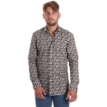 vaatteet Miehet Pitkähihainen paitapusero Betwoin DIONISIOÙ Valkoinen