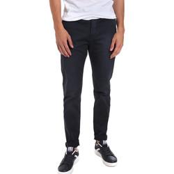 vaatteet Miehet Chino-housut / Porkkanahousut Gaudi 011BU25004WC Sininen