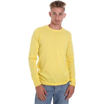 vaatteet Miehet Neulepusero Sseinse ME1504SS Keltainen