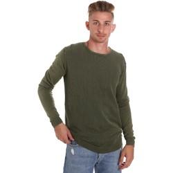 vaatteet Miehet Neulepusero Sseinse ME1510SS Vihreä
