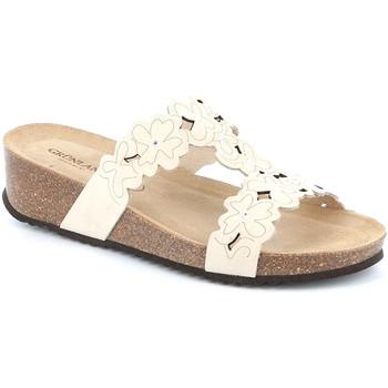 kengät Naiset Sandaalit Grunland CB2491 Valkoinen
