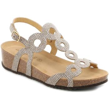 kengät Naiset Sandaalit ja avokkaat Grunland SB1597 Beige