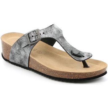 kengät Naiset Varvassandaalit Grunland CB2493 Musta