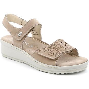 kengät Naiset Sandaalit ja avokkaat Grunland SA2580 Beige