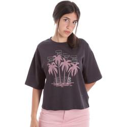vaatteet Naiset Lyhythihainen t-paita Pepe jeans PL504468 Musta