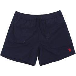 vaatteet Miehet Uima-asut / Uimashortsit U.S Polo Assn. 56488 52458 Sininen
