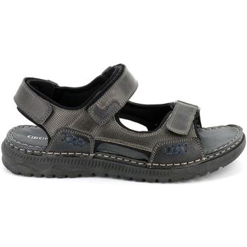 kengät Miehet Sandaalit ja avokkaat Grunland SA2526 Musta