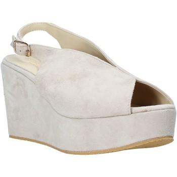kengät Naiset Sandaalit ja avokkaat Esther Collezioni ZC 107 Beige